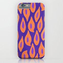Leopards jungle print// gouache watercolour iPhone Case