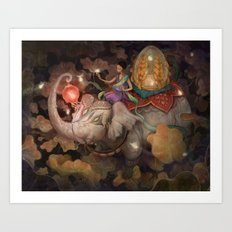 Guidance Art Print