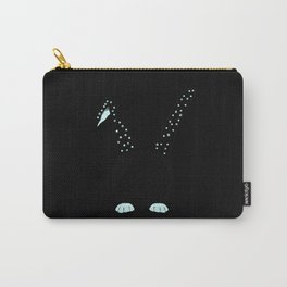 Little Blue Bunnie Carry-All Pouch