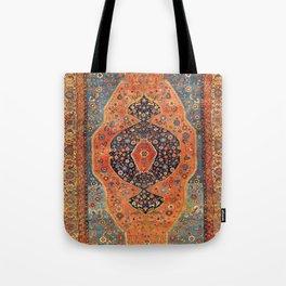 Northwest Persian Antique Carpet Print Tote Bag
