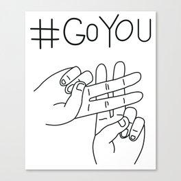 #GoYou Canvas Print