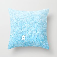 Yarn Ball Pit Throw Pillow