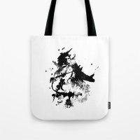 cello Tote Bags featuring Cello by juliagingras