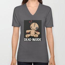 Dead Inside Depression Raise Awareness Doll Unisex V-Neck