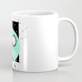 Aqua Night Surf Coffee Mug
