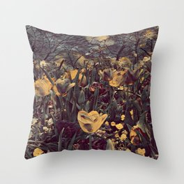 GALATHI Flower Spring is Here Vintage - Flowers Throw Pillow