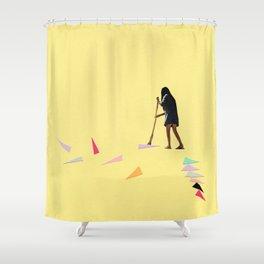 Swept Away Shower Curtain