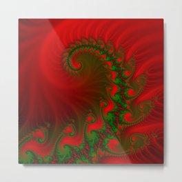 fire spiral -2- Metal Print