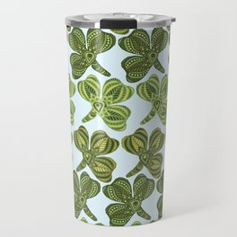 Clover pattern 1 Travel Mug