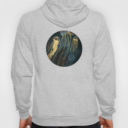 Metallic Jellyfish Hoody