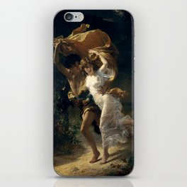 The Storm By Pierre Auguste Cot iPhone Skin