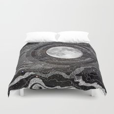 Moon Glow Duvet Cover