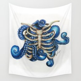 Chtulhu rib cage Wall Tapestry