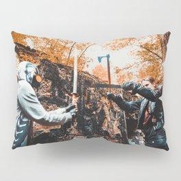 Post-apocalypse: Fight Pillow Sham