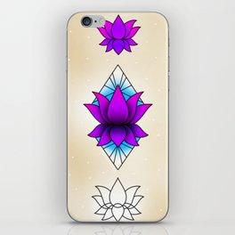 Lotus Flower Sheet iPhone Skin