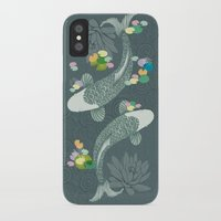 koi iPhone & iPod Cases featuring Koi by Amanda Dilworth