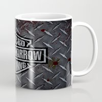 sons of anarchy Mugs featuring SAMCRO Teller-Morrow of Charming (Sons of Anarchy / Harley-Davidson) by HuckBlade