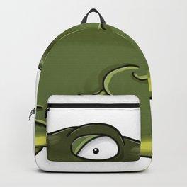 Depressed fish Backpack