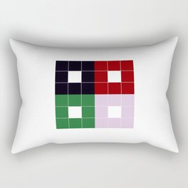 The Death of a Cancer Patient(block) Rectangular Pillow