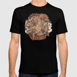 Flowers and Moths T-shirt