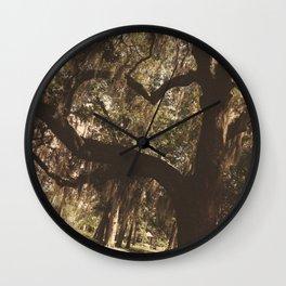 Tree heart in Historic Avadale Jacksonvll Florida Wall Clock