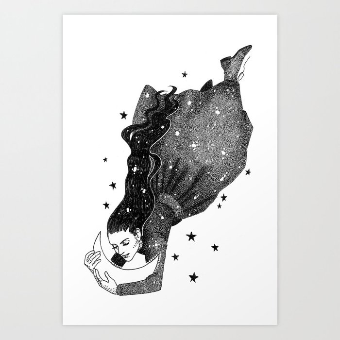 I Have Loved The Night Too Fondly Art Print