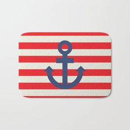 Anchor - Nautical Bath Mat