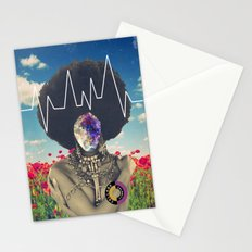Afro Heartbeat Stationery Cards