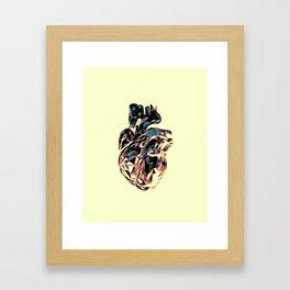 Heart Print #3 Framed Art Print