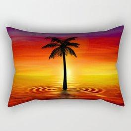 Palma Sea Rectangular Pillow
