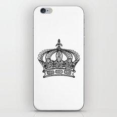 Queen Crown iPhone & iPod Skin