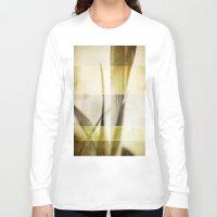 grunge Long Sleeve T-shirts featuring Grunge by Fine2art