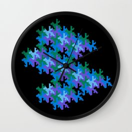 Tessellation No. 1 Wall Clock