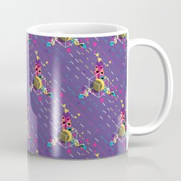 Colorful ornaments with feathers Coffee Mug