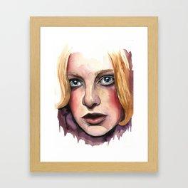 DOE EYES Framed Art Print