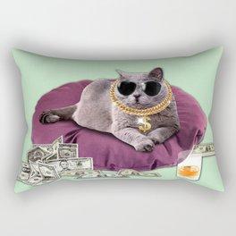 GANGSTA CAT Rectangular Pillow