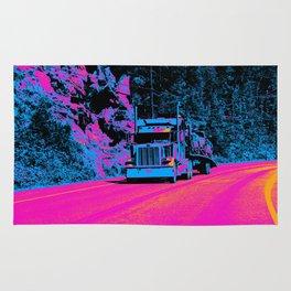 Big Rig Highway Hauler Rug