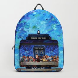 The Doctor Lost in the last Supper Backpack