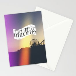 Stay Trippy Little Hippy Stationery Cards