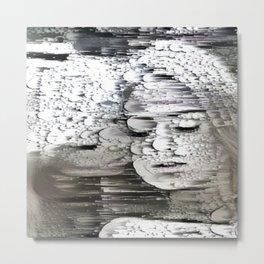 Bubbly Dual Portrait Metal Print