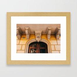 Eixample - Barcelona, Spain - #10 Framed Art Print