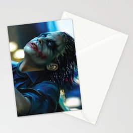 Joker Heath Ledger Stationery Cards