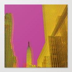 PINK NYC Canvas Print
