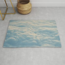 above the clouds ... Rug