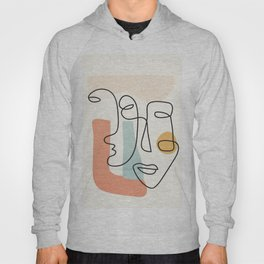 Abstract Faces 31 Hoody