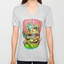 Frankenstein Monster Unisex V-Neck