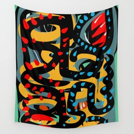 Energy Flow Abstract Art Life Wall Tapestry