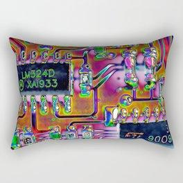 Short Circuit Rectangular Pillow