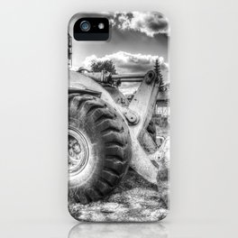 Bulldozer Machine from Earth iPhone Case