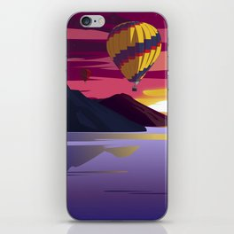 Follow the sunset iPhone Skin